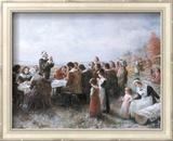 The First Thanksgiving Prints by Jean Leon Gerome Ferris