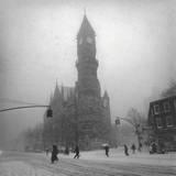 Greenwich Village, New York City Veggoverføringsbilde av Henri Silberman