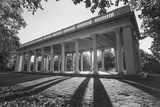 Prospect Park Peristyle Grecian Shelter With Columns - Classic Park Portico Wall Decal by Henri Silberman