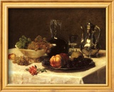 Still Life, Corner of Table Poster by Victoria Dubourg