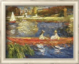 Banks of the Seine Poster by Pierre-Auguste Renoir