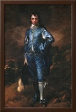 The Blue Boy Art by Thomas Gainsborough