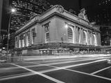 Grand Central Station, NY at Night - NY City Landmarks at Night Wall Decal by Henri Silberman