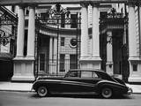 Rolls Royce Manhattan Club Nyc Wall Decal by Henri Silberman