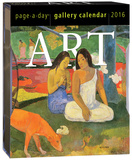 Art Page-A-Day Gallery - 2016 Boxed Calendar Calendars