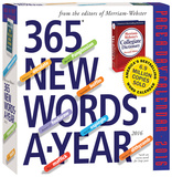 365 New Words-A-Year Page-A-Day - 2016 Boxed Calendar Calendars