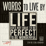 Words to Live By - 2016 Calendar Calendars
