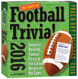 365 Days Of Football Trivia! Page-A-Day - 2016 Boxed Calendar Kalendere