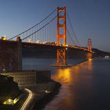 Golden Gate Bridge North View 7 Wall Decal by Henri Silberman
