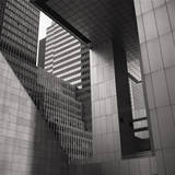 Citicorp Building Close-Up Abstract Wall Decal by Henri Silberman