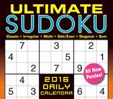 Ultimate Sudoku - 2016 Boxed Calendar Calendars