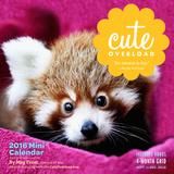 Cute Overload - 2016 Mini Wall Calendar Calendars