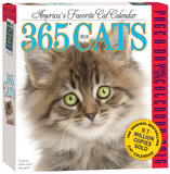 365 Cats Color Page-A-Day - 2016 Boxed Calendar Calendars