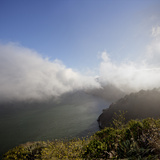 Marin Headlands Landscape (Fog) Wall Decal by Henri Silberman