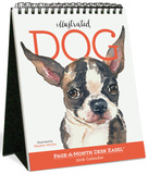 Illustrated Dog Page-A-Month - 2016 Easel Calendar Calendars