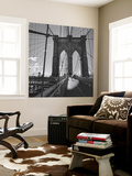 Brooklyn Bridge, New York City Wall Mural by Henri Silberman