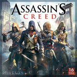 Assassins Creed - 2016 Calendar Calendriers