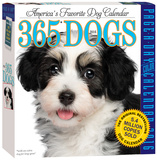 365 Dogs Color Page-A-Day - 2016 Boxed Calendar Calendars
