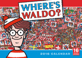 Where's Waldo - 2016 Calendar Calendars