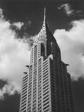 Chrysler Building, New York City, View from Street Wall Decal by Henri Silberman