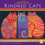 Kindred Cats  Laurel Burch - 2016 Calendar Calendars
