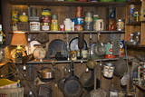 Vintage Cookware and Tins on a Shelf Wall Decal by Henri Silberman