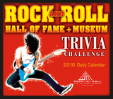 Rock and Roll Hall of Fame Trivia Challenge - 2016 Boxed Calendar Calendars