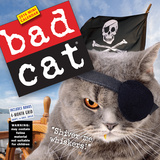Bad Cat - 2016 Mini Wall Calendar Calendars