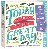 Today Is Going To Be A Great Day! Color Page-A-Day - 2016 Boxed Calendar Calendars