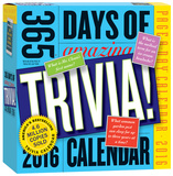 365 Days Of Amazing Trivia! Page-A-Day - 2016 Boxed Calendar Calendars