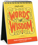 Illustrated Words Of Wisdom Page-A-Month - 2016 Easel Calendar Calendars