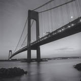 Verrazano Bridge, New York City at Night Wall Decal by Henri Silberman