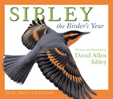 Sibley: The Birder's Year - 2016 Boxed Calendar Calendars