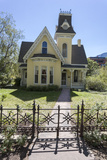 Victorian House and Fence 1 (Boulder, Co) Wall Decal by Henri Silberman