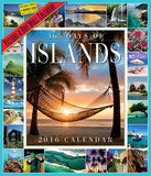 365 Days Of Islands Picture-A-Day - 2016 Calendar Calendars