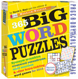 365 Big Word Puzzles Color Page-A-Day - 2016 Boxed Calendar Calendars