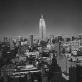 Empire State Building, New York City 2 Wall Decal by Henri Silberman