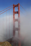 Golden Gate Bridge Tower in Fog 1 Wall Decal by Henri Silberman