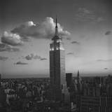 Empire State Building, New York City, Evening Wall Decal by Henri Silberman