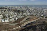 View of San Francisco from Twin Peaks Wall Decal by Henri Silberman