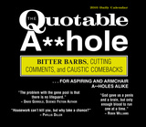 The Quotable A**hole - 2016 Boxed Calendar Calendars