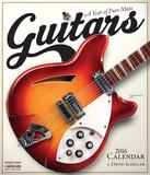 Guitars - 2016 Calendar Calendriers
