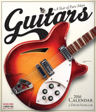 Guitars - 2016 Calendar Calendars
