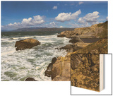Sutro Baths, San Francisco, CA 2 (Surf and Rocks) Wood Print by Henri Silberman