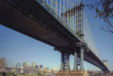 Manhattan Bridge, New York City Wall Decal by Henri Silberman