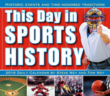 This Day in Sports History - 2016 Boxed Calendar Calendari