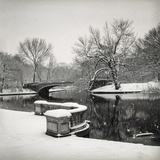Lullwater Bridge Snow, Prospect Park - Prospect Park, Brooklyn New York Wall Decal by Henri Silberman