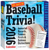 365 Days Of Baseball Trivia! Page-A-Day - 2016 Boxed Calendar Calendars