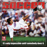 Soccer: The Original Extreme Sport - 2016 Calendar Calendari