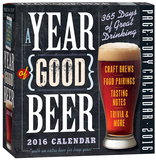 A Year Of Good Beer Page-A-Day - 2016 Boxed Calendar Calendriers